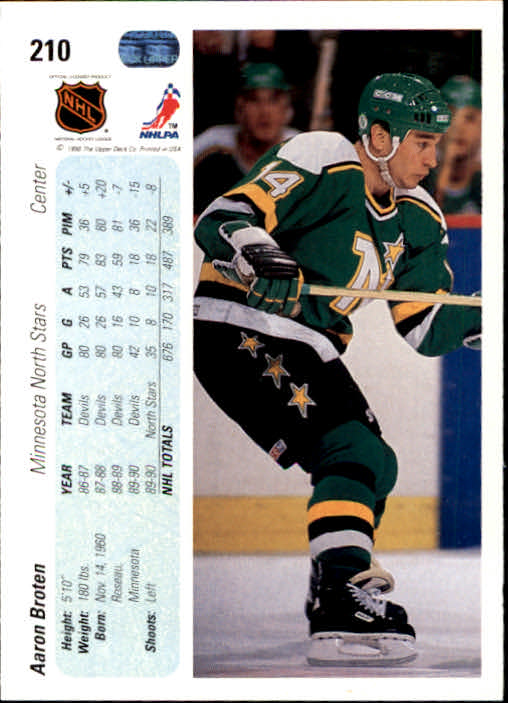 1990-91-Upper-Deck-Hockey-201-400-Rookies-You-Pick-Buy-10-cards-FREE-SHIP thumbnail 21