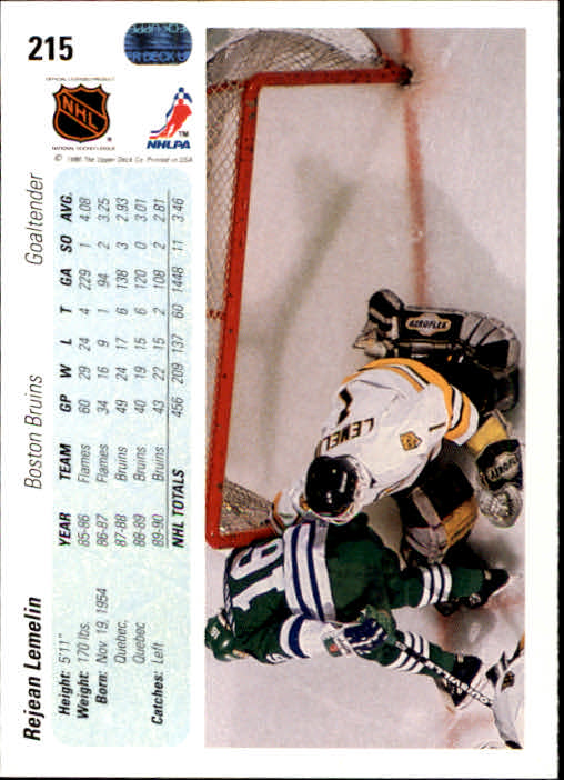 1990-91-Upper-Deck-Hockey-201-400-Rookies-You-Pick-Buy-10-cards-FREE-SHIP thumbnail 31