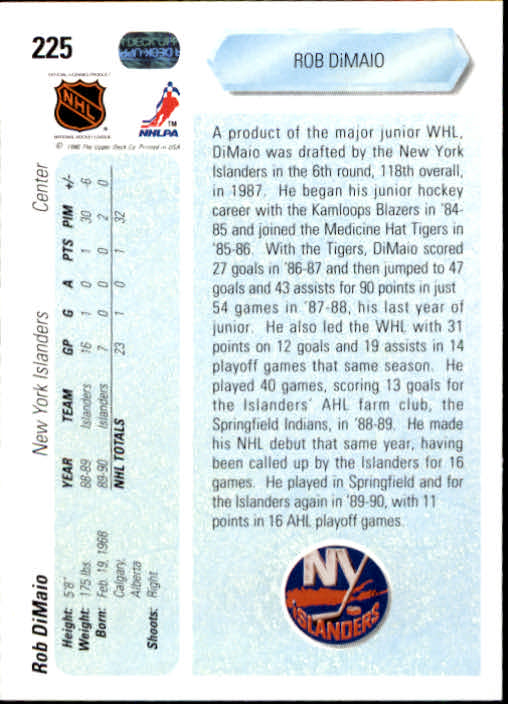 1990-91-Upper-Deck-Hockey-201-400-Rookies-You-Pick-Buy-10-cards-FREE-SHIP thumbnail 51