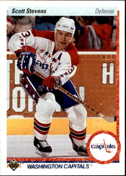 1990-91 Upper Deck #236 Scott Stevens