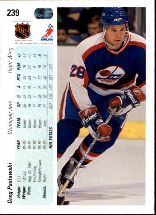 1990-91-Upper-Deck-Hockey-201-400-Rookies-You-Pick-Buy-10-cards-FREE-SHIP thumbnail 77