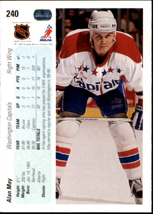 1990-91-Upper-Deck-Hockey-201-400-Rookies-You-Pick-Buy-10-cards-FREE-SHIP thumbnail 79