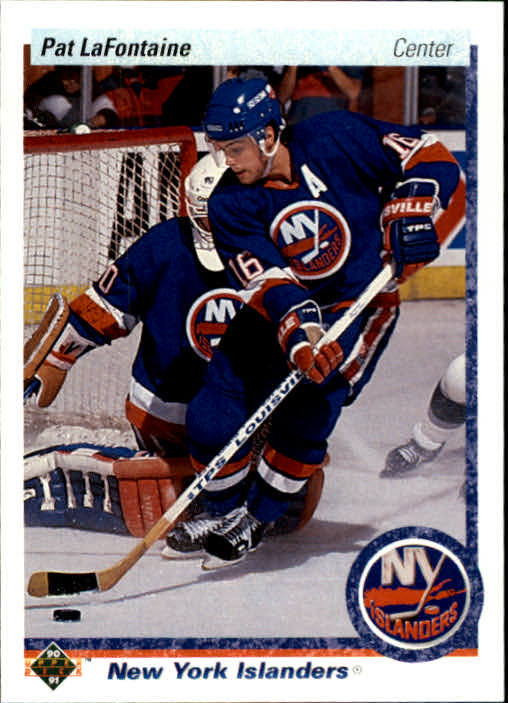 1990-91 Upper Deck #246 Pat LaFontaine