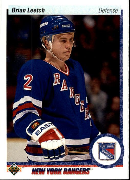 1990-91 Upper Deck #253 Brian Leetch