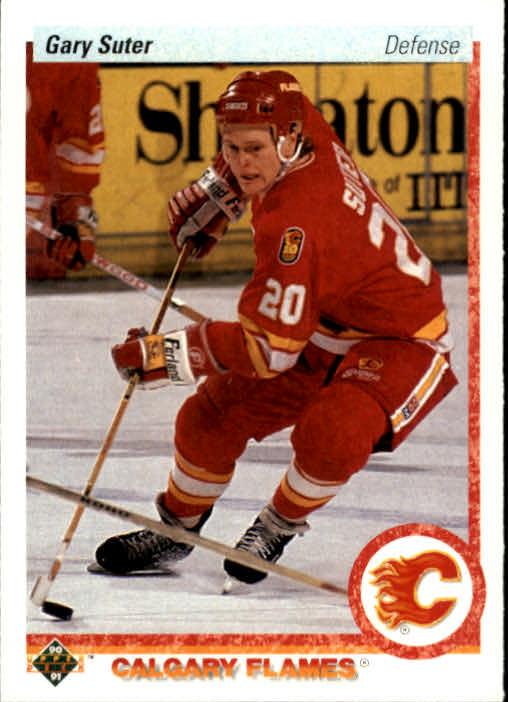 1990-91 Upper Deck #273 Gary Suter