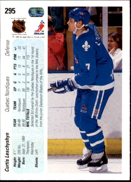 1990-91-Upper-Deck-Hockey-201-400-Rookies-You-Pick-Buy-10-cards-FREE-SHIP thumbnail 189