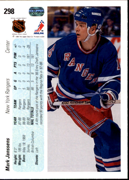 1990-91-Upper-Deck-Hockey-201-400-Rookies-You-Pick-Buy-10-cards-FREE-SHIP thumbnail 195