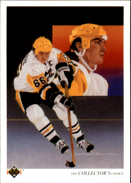 1990-91 Upper Deck #305 Mario Lemieux TC