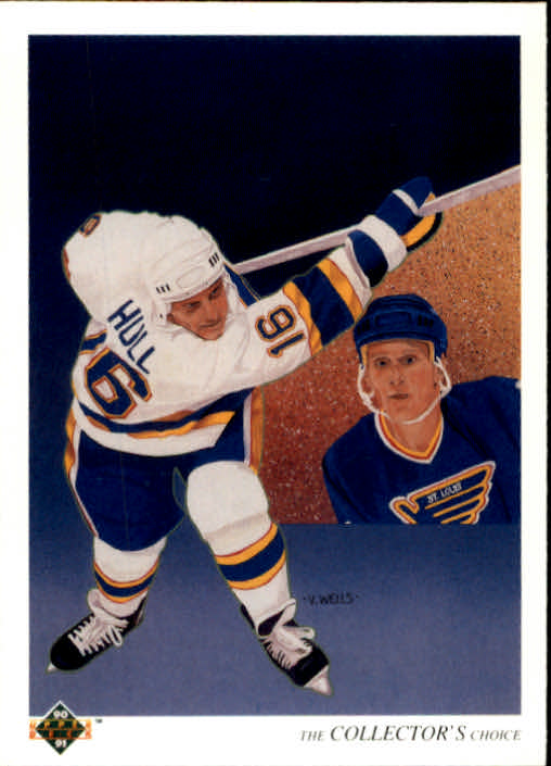 1990-91 Upper Deck #312 Brett Hull TC