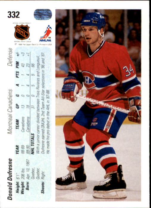 1990-91-Upper-Deck-Hockey-201-400-Rookies-You-Pick-Buy-10-cards-FREE-SHIP thumbnail 263