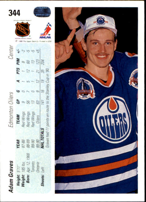 1990-91-Upper-Deck-Hockey-201-400-Rookies-You-Pick-Buy-10-cards-FREE-SHIP thumbnail 285