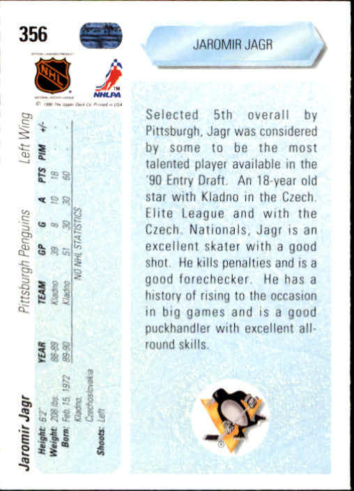 1990-91-Upper-Deck-Hockey-201-400-Rookies-You-Pick-Buy-10-cards-FREE-SHIP thumbnail 309