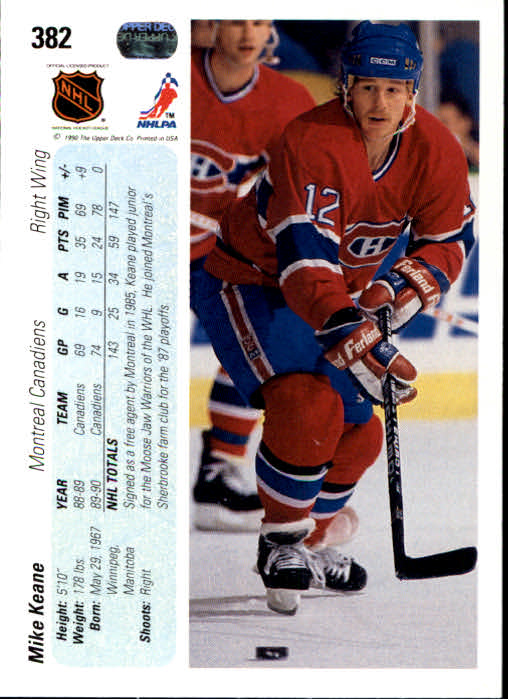 1990-91-Upper-Deck-Hockey-201-400-Rookies-You-Pick-Buy-10-cards-FREE-SHIP thumbnail 361