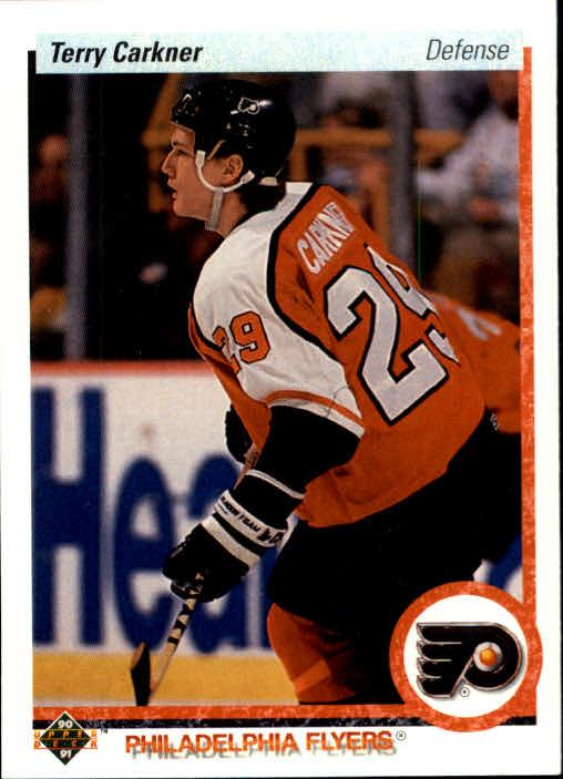 1990-91 Upper Deck #398 Terry Carkner