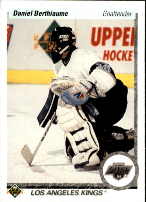 1990-91 Upper Deck #412 Daniel Berthiaume
