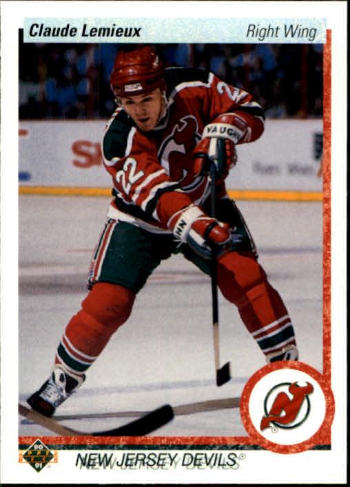1990-91 Upper Deck #447 Claude Lemieux