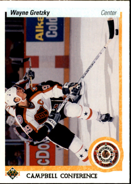 1990-91 Upper Deck #476 Wayne Gretzky AS