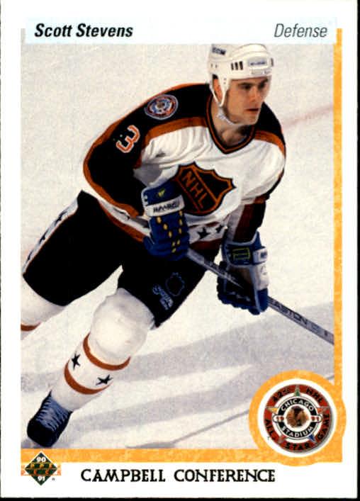 1990-91 Upper Deck #482 Scott Stevens AS
