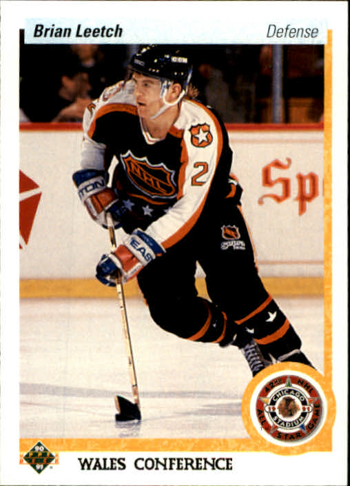 1990-91 Upper Deck #485 Brian Leetch AS
