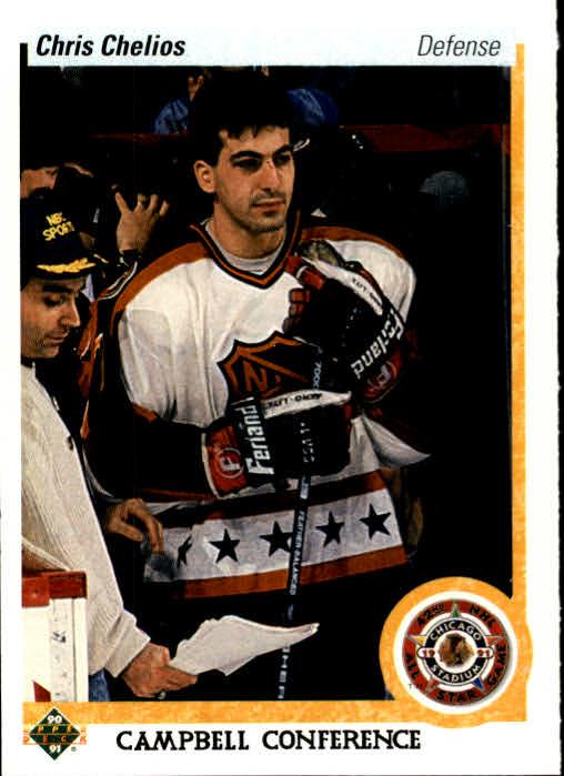 1990-91 Upper Deck #491 Chris Chelios AS