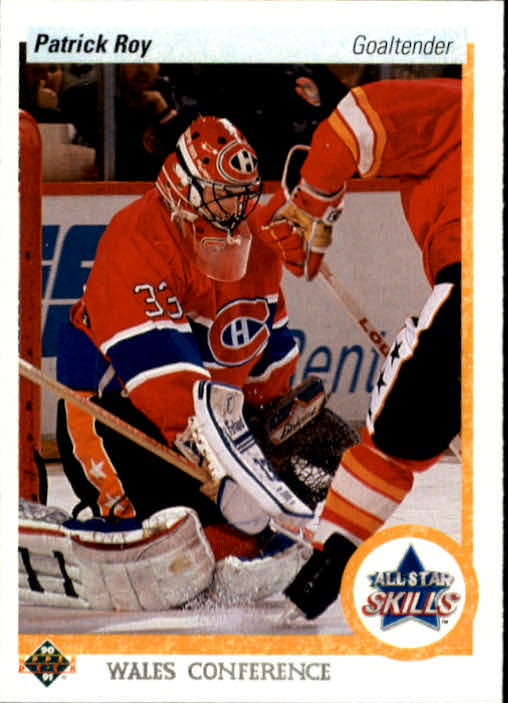 1990-91 Upper Deck #496 Patrick Roy AS