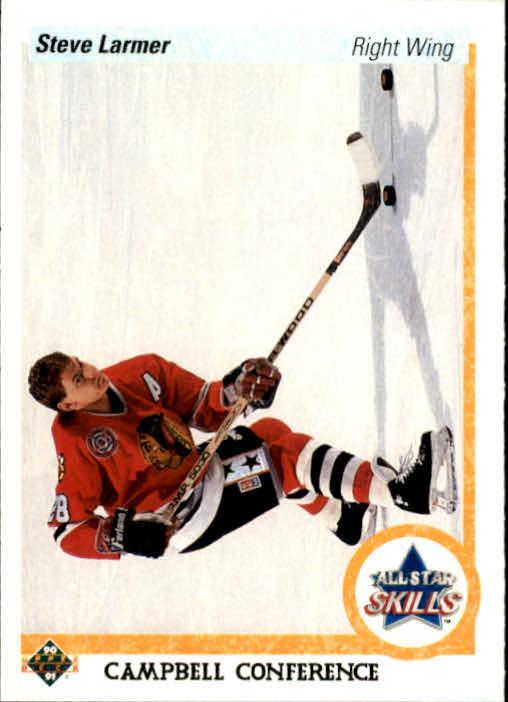 1990-91 Upper Deck #499 Steve Larmer AS