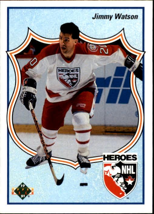 1990-91 Upper Deck #514 Jimmy Watson HERO