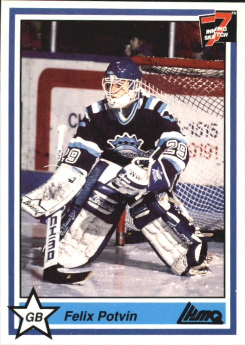 1990-91 7th Inning Sketch QMJHL #35 Felix Potvin