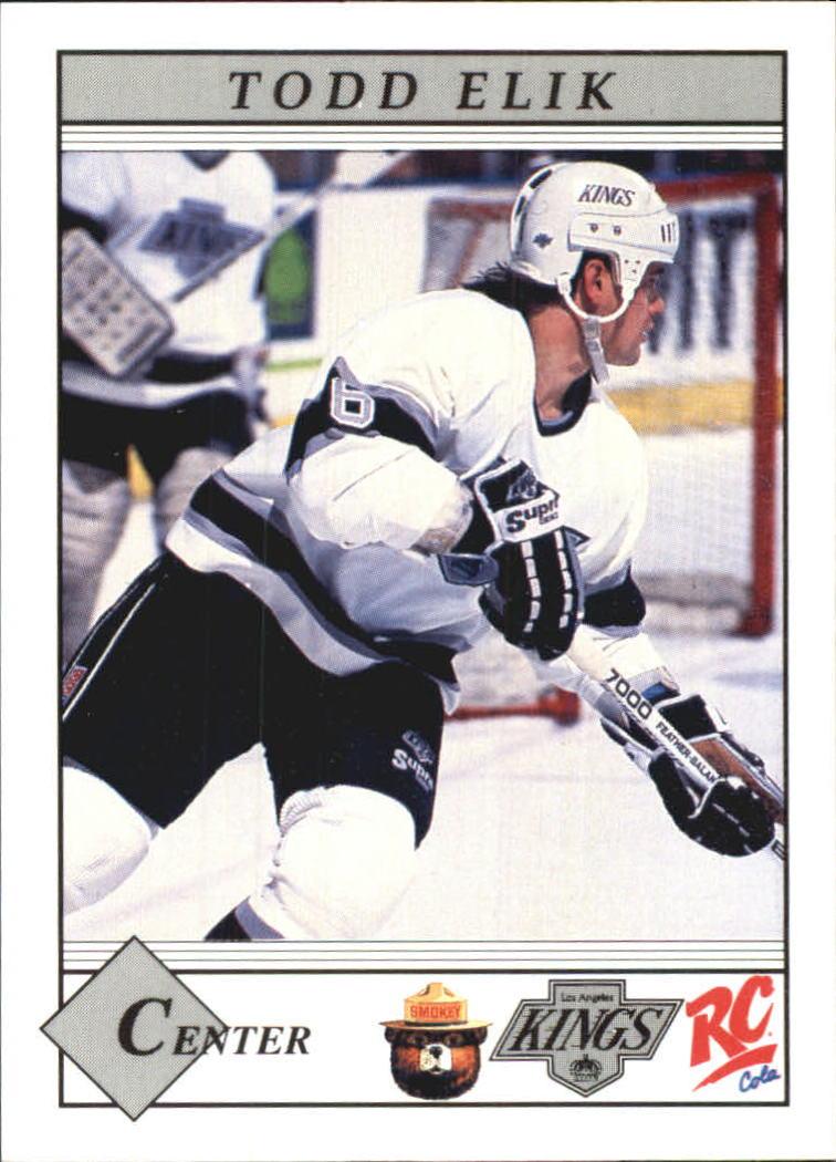 1990-91 Kings Smokey #5 Todd Elik