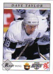 1990-91 Kings Smokey #8 Dave Taylor