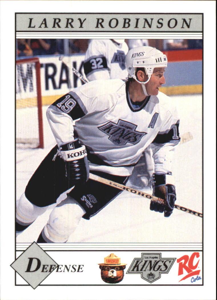 1990-91 Kings Smokey #9 Larry Robinson