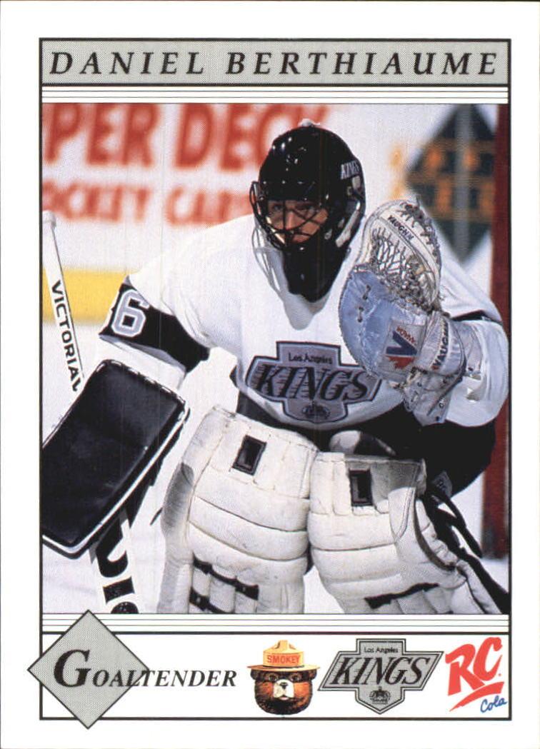 1990-91 Kings Smokey #19 Daniel Berthiaume