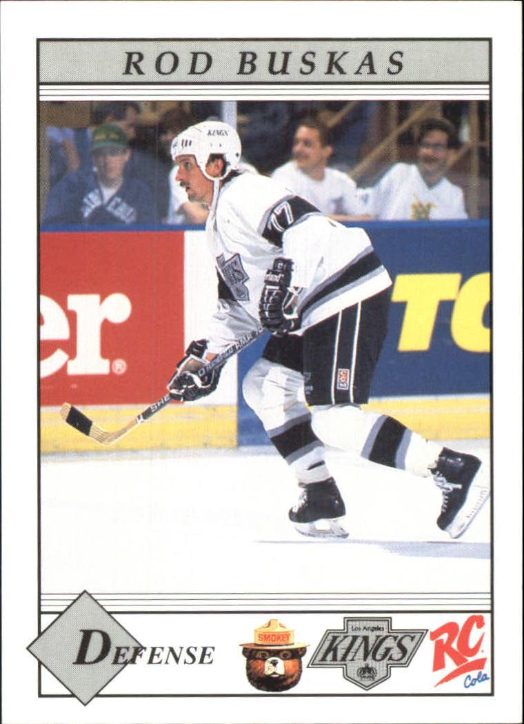 1990-91 Kings Smokey #23 Rod Buskas