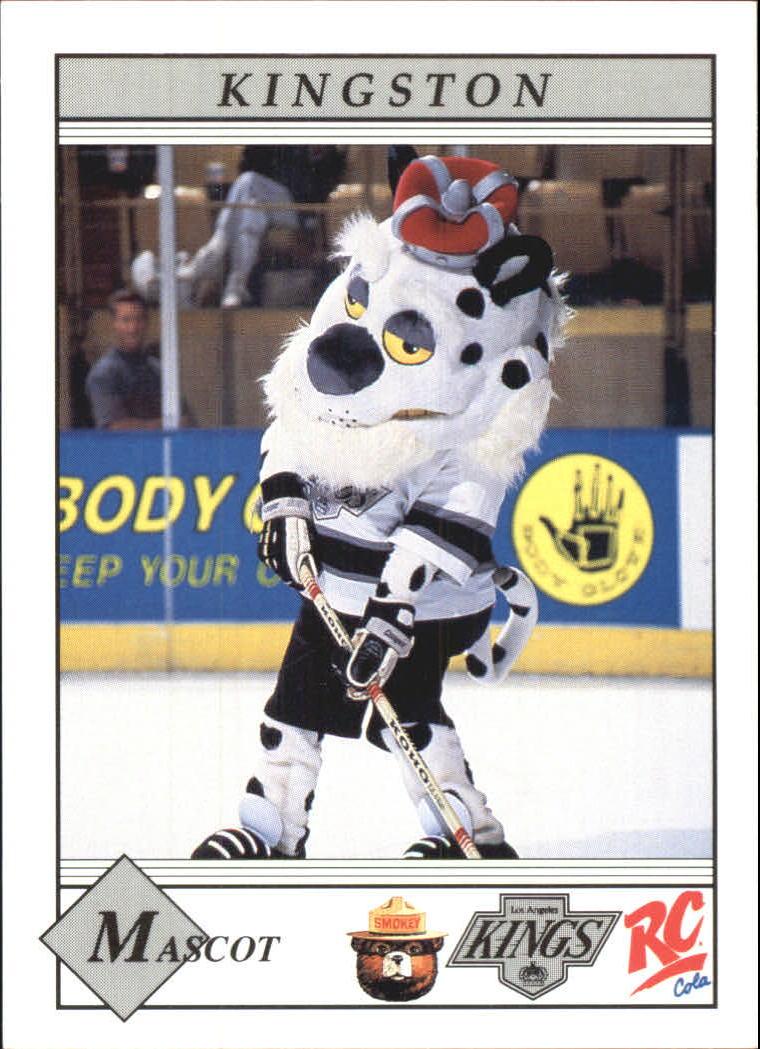 1990-91 Kings Smokey #24 Kingston (Mascot)/(Checklist on back)