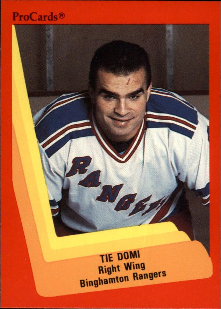 1990-91 ProCards AHL/IHL #22 Tie Domi