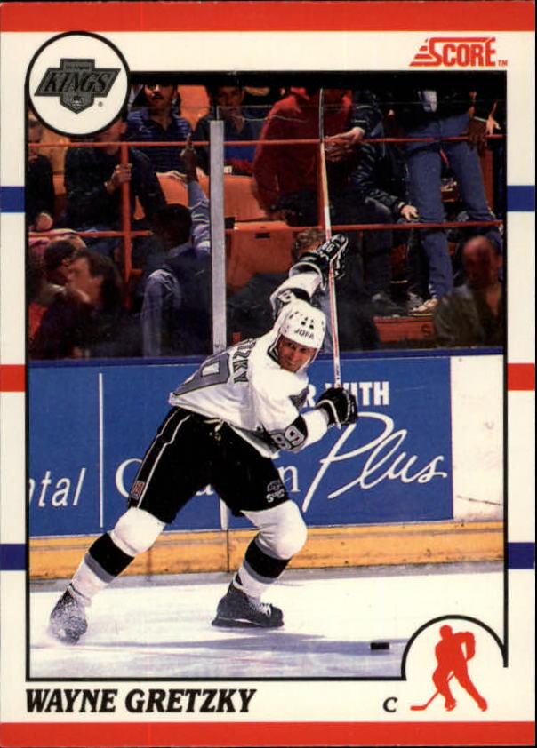 1990-91 Score Canadian #1 Wayne Gretzky