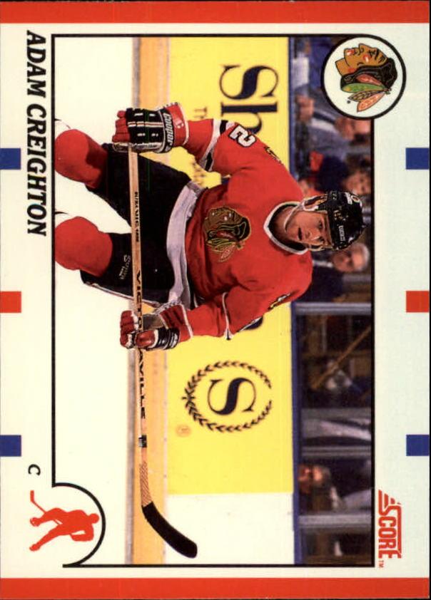 1990-91 Score Canadian #82 Adam Creighton