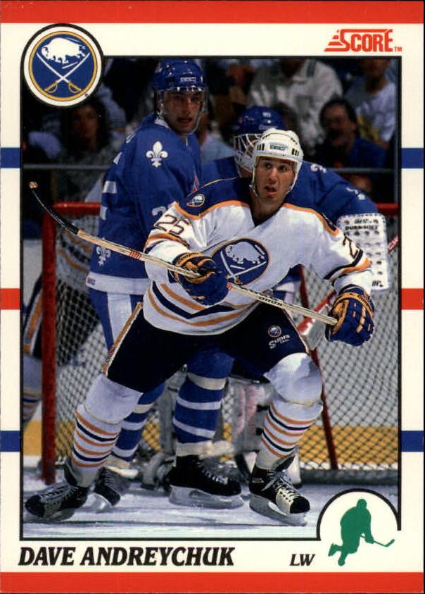 1990-91 Score Canadian #189 Dave Andreychuk