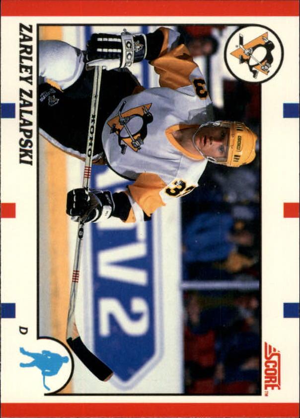 1990-91 Score Canadian #218 Zarley Zalapski