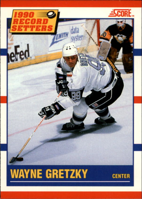 1990-91 Score Canadian #347 Wayne Gretzky RB
