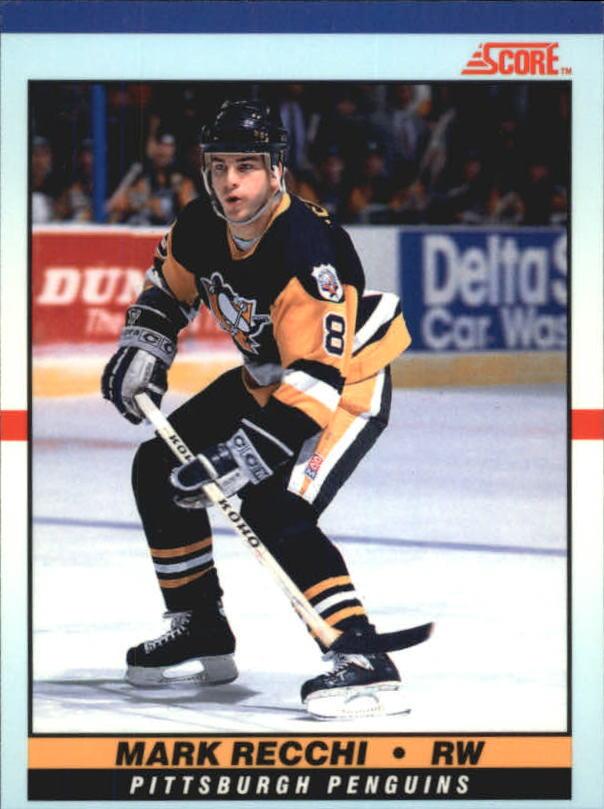1990-91 Score Young Superstars #35 Mark Recchi