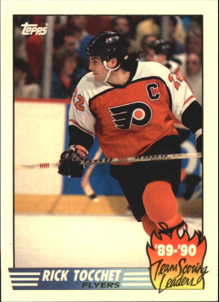 1990-91 Topps Team Scoring Leaders #9 Rick Tocchet