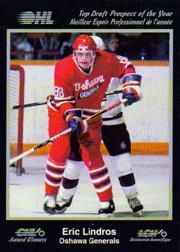 1991 7th Inning Sketch CHL Award Winners #1 Eric Lindros