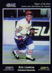1991 7th Inning Sketch CHL Award Winners #10 Eric Lindros
