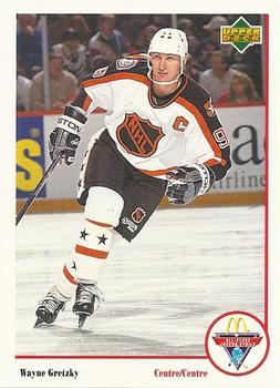 1991-92 McDonald's Upper Deck #17 Wayne Gretzky