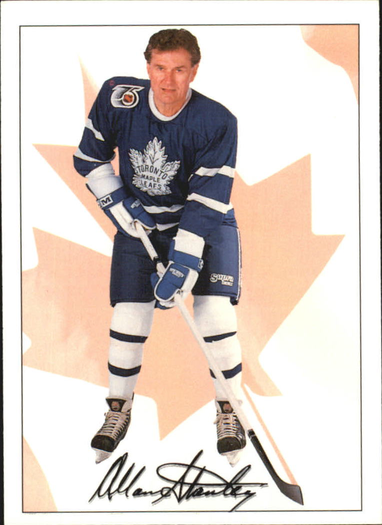 1991-92 Ultimate Original Six #75 Allan Stanley