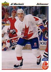 1991-92 Upper Deck French #8 Al MacInnis CC