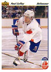 1991-92 Upper Deck French #11 Paul Coffey CC