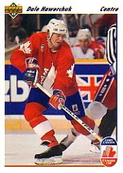 1991-92 Upper Deck French #12 Dale Hawerchuk CC