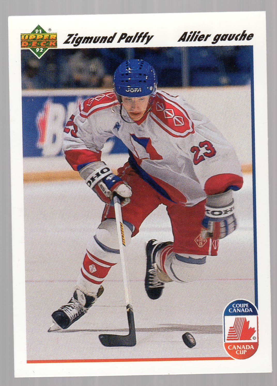 1991-92 Upper Deck French #16 Zigmund Palffy CC RC